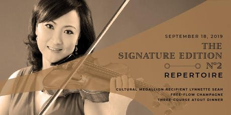 Maduro's The Signature Edition No.2:  Repertoire featuring Lynnette Seah tickets