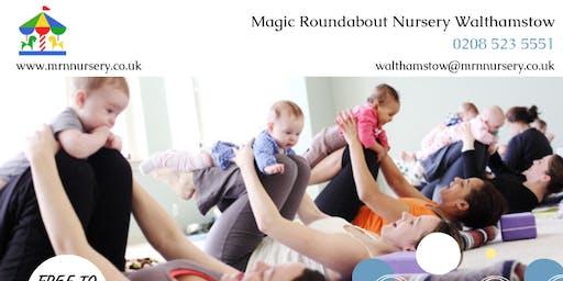 Baby Yoga Class - Magic Roundabout Nursery Walthamstow