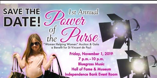 St. Vincent de Paul's First Annual Power of the Purse Auction & Gala