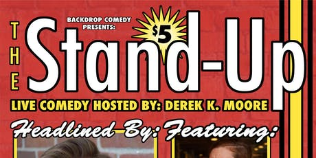 The Stand-Up: A Live Comedy Show @ Askew tickets