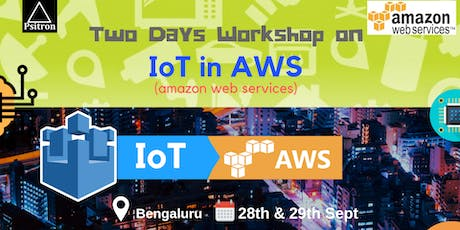 Internet of things (IoT) in Amazon Web Services Workshop tickets