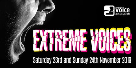 EXTREME VOICES: 23-24 November 2019 tickets
