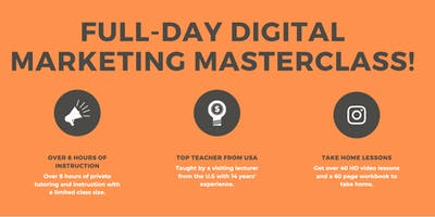 Full-Day Live Digital Marketing Masterclass in Chiang Mai!