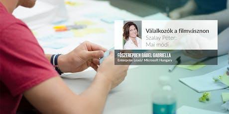 Vállalkozók a filmvásznon - Szalay Péter: Mai módi tickets