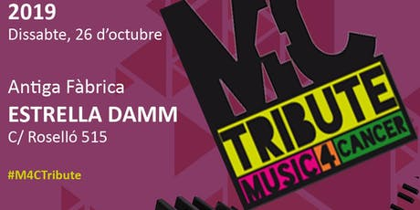 Music for Cancer Tribute- #M4CTribute entradas
