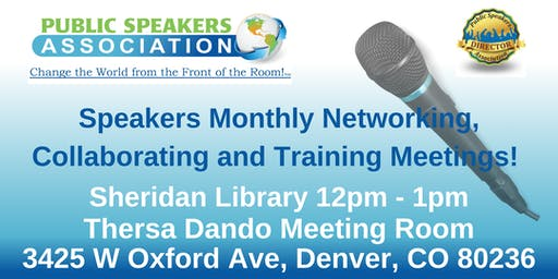 Denver Area Public Speakers Association Chapter Meeting