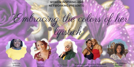 Embracing the Colors of Her Lipstick Empowerment Tea  tickets