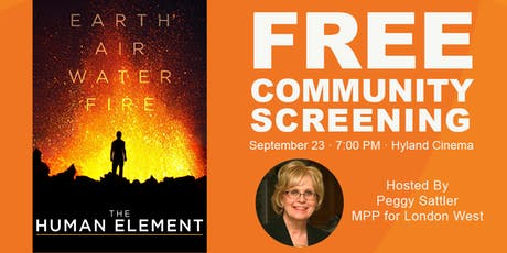 The Human Element - Screening and Panel Discussion tickets