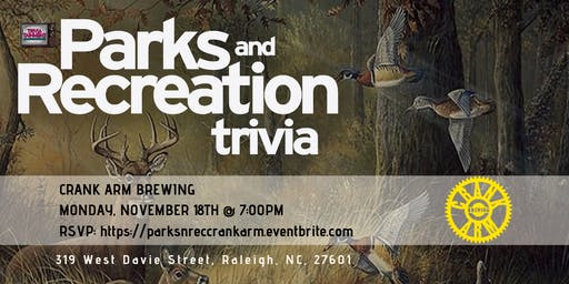 Parks & Rec Trivia at Crank Arm Brewing