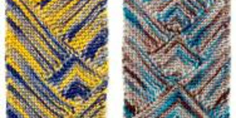 Knitting Multi-Directional Scarves tickets