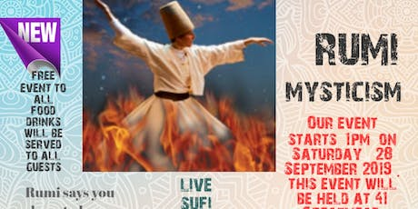 Rumi mysticism tickets
