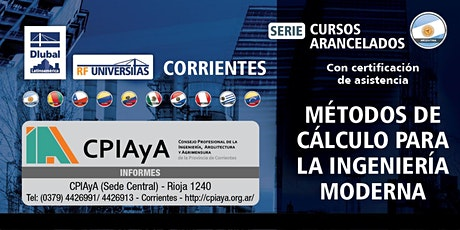 Métodos de cálculo para la ingeniería moderna - Presencial - Corrientes entradas