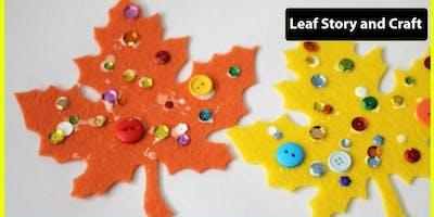 Storytime & Leaf Craft