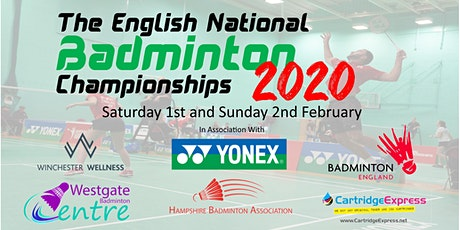 English National Badminton Championships 2020 tickets