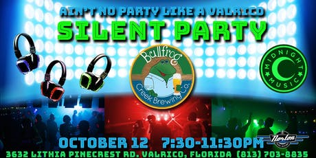 Back To Bullfrog Silent Party tickets