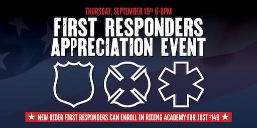 First Responders Appreciation Event