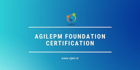 AgilePM Foundation  Certification tickets