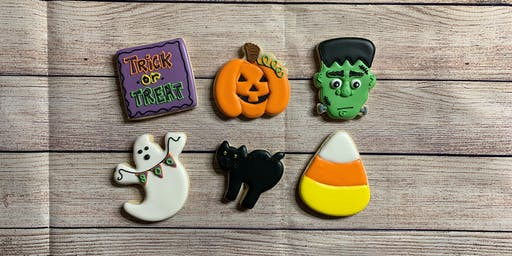 Spooktacular Halloween Cookie Decorating (ages 13+)
