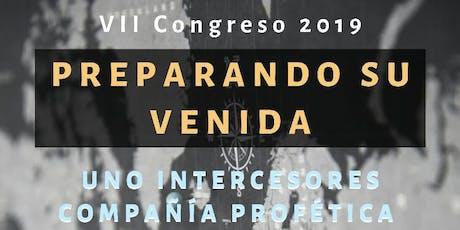 VII CONGRESO 2019- PREPARANDO SU VENIDA entradas