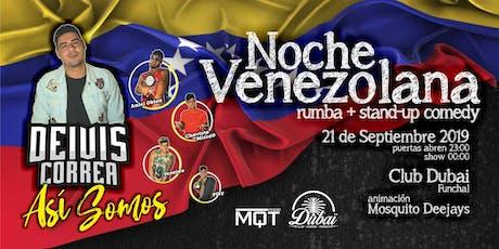 Deivis Correa Stand Up + Noche Venezolana tickets