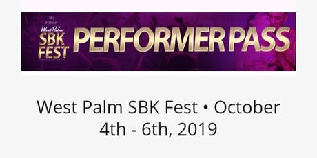 West Palm SBK Fest Performance Dance Team   tickets
