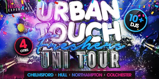URBAN TOUCH FRESHERS TOUR (NN2 ) ALL WHITE DANCEHALL TAKEOVER