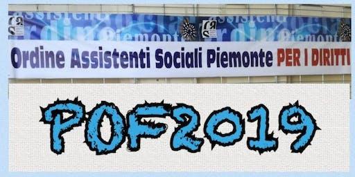 Percorso laboratoriale.  Servizio sociale e vergogna.Edizione 2019-Vercelli