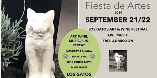 Los Gatos Art & Wine Festival, Fiesta de Artes