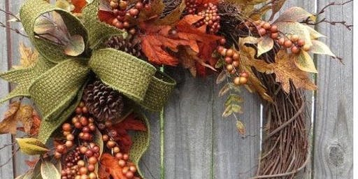Fall Wreath Decorating Workshop Second Date