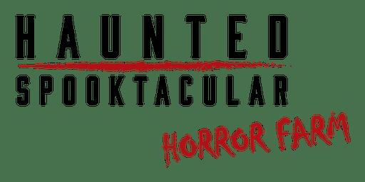 Haunted Spooktacular 19th October 2019