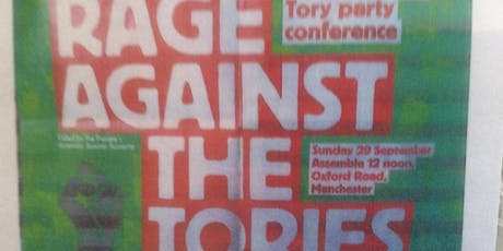 Tory Party conference 2019 Demo  tickets