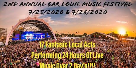 2nd Annual Bar Louie Music Festival: Main Page tickets
