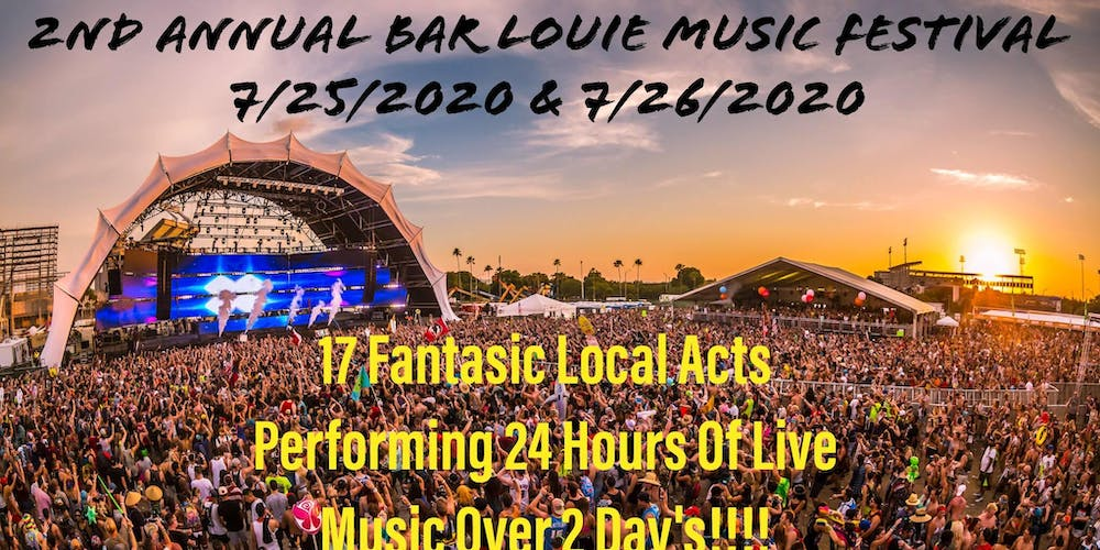 Phish Festival 2020.2nd Annual Bar Louie Music Festival Main Page Tickets Sat