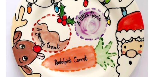 Parents Christmas Eve Plate Painting @ The Mocha Lounge