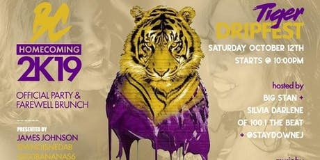 #TheWeekend Sat., October 12th Tiger Drip Fest tickets