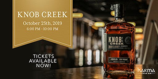 KARMA OCTOBER EVENT || DINNER feat. KNOB CREEK SINGLE BARREL RESERVE