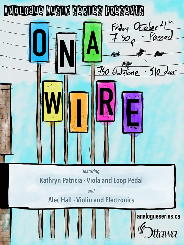 On a Wire: Music for Strings and Electronics image