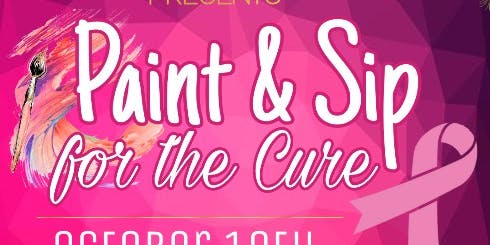 PAINT AND SIP: For The Cure