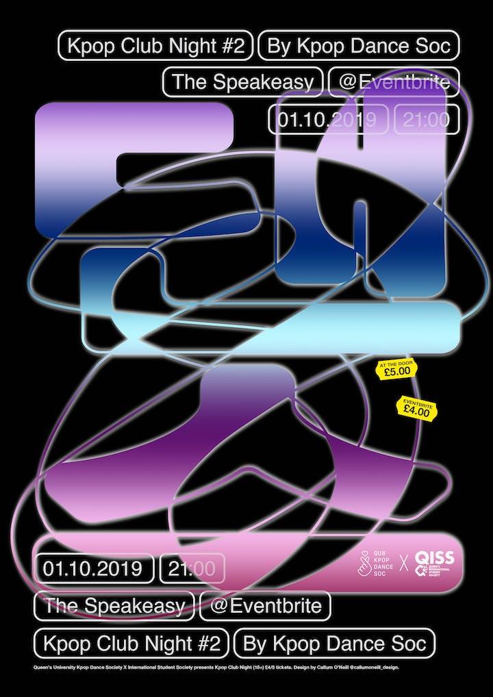 KPOP CLUB NIGHT #2 - QUBKPOPDANCESOC X QISS QUB FRESHERS EVENT 18+