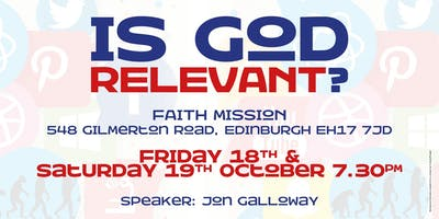 """""""Is God Relevant?"""""""