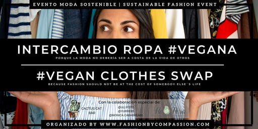 INTERCAMBIO ROPA #VEGANA | #VEGAN CLOTHES SWAP