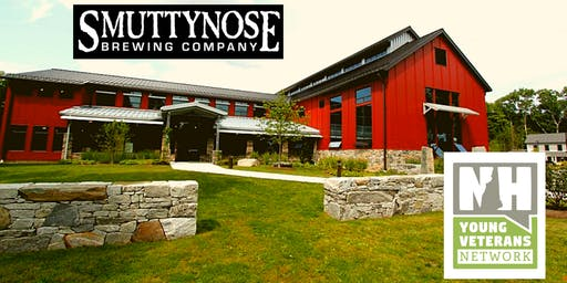 New Hampshire Young Veterans Network networking at Smuttynose Brewery!