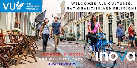 Estudia en Vrije Universiteit Amsterdam (también en línea) boletos