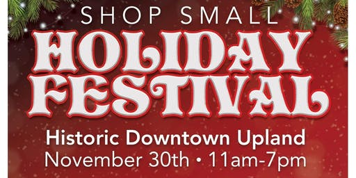 Shop Small Holiday Festival