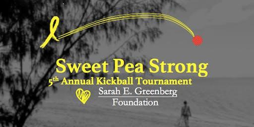 Sweet Pea Strong Kickball Tournament - Sarah E. Greenberg Foundation