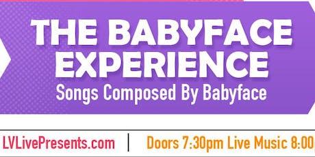 "BAMA Entertainment Presents Rhythm & Grooves ""The Babyface Experience"" tickets"