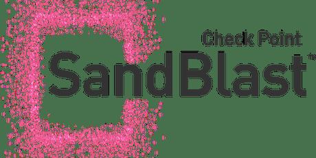 Cybersecurity - Sandblast - Checkpoint bilhetes