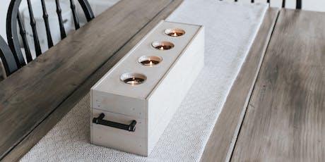 DIY Centerpiece Box tickets