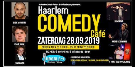 Haarlem Comedy Café tickets