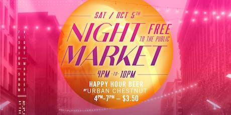 Factory Night Market tickets